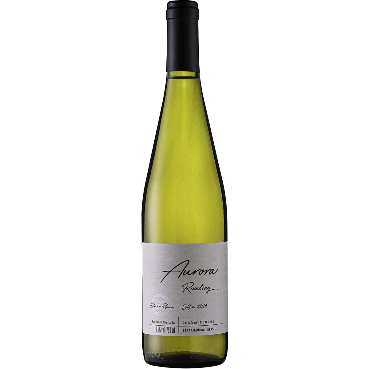 Vinho Aurora Riesling Edição Única Safra 2014 Branco Seco 750ml