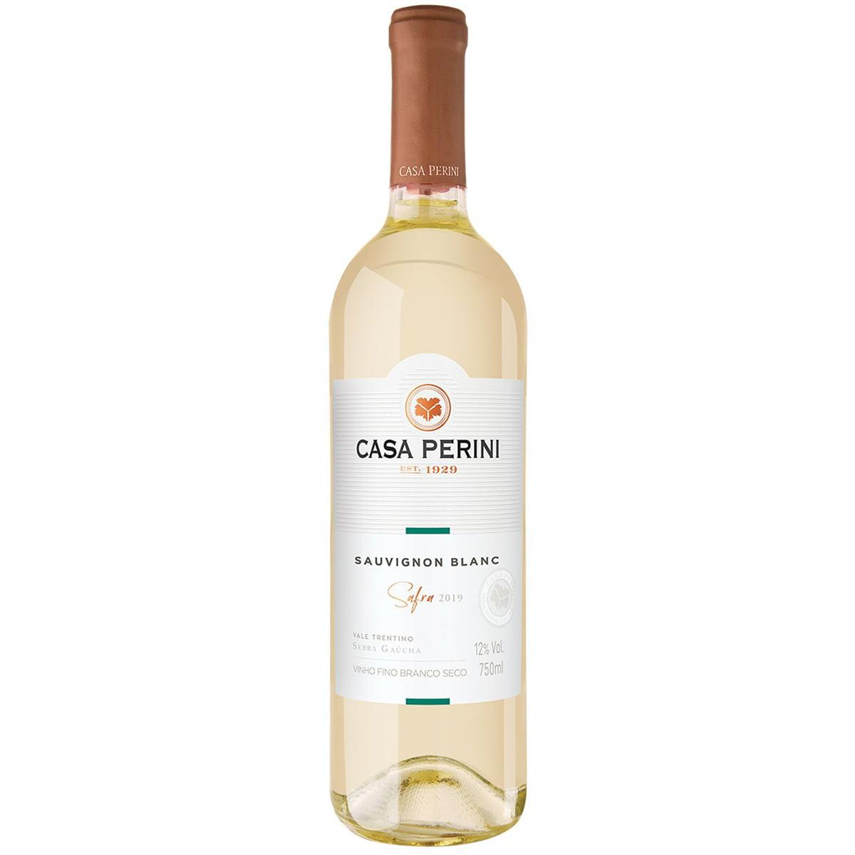 Vinho Casa Perini Sauvignon Blanc Branco Seco 750ml