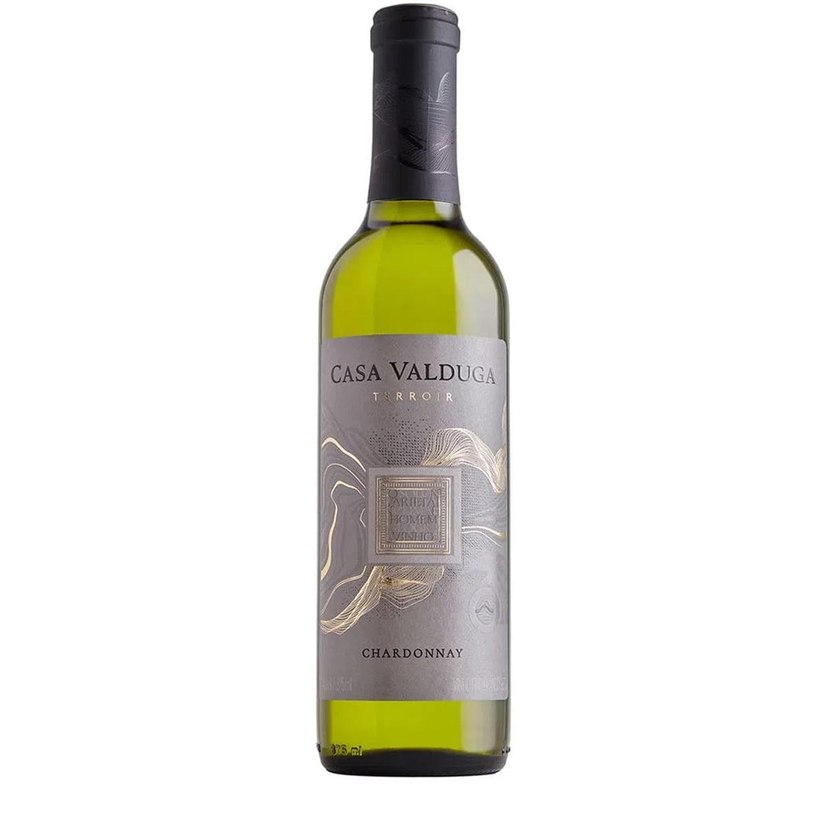 Vinho Casa Valduga Leopoldina Chardonnay Branco Seco 375ml