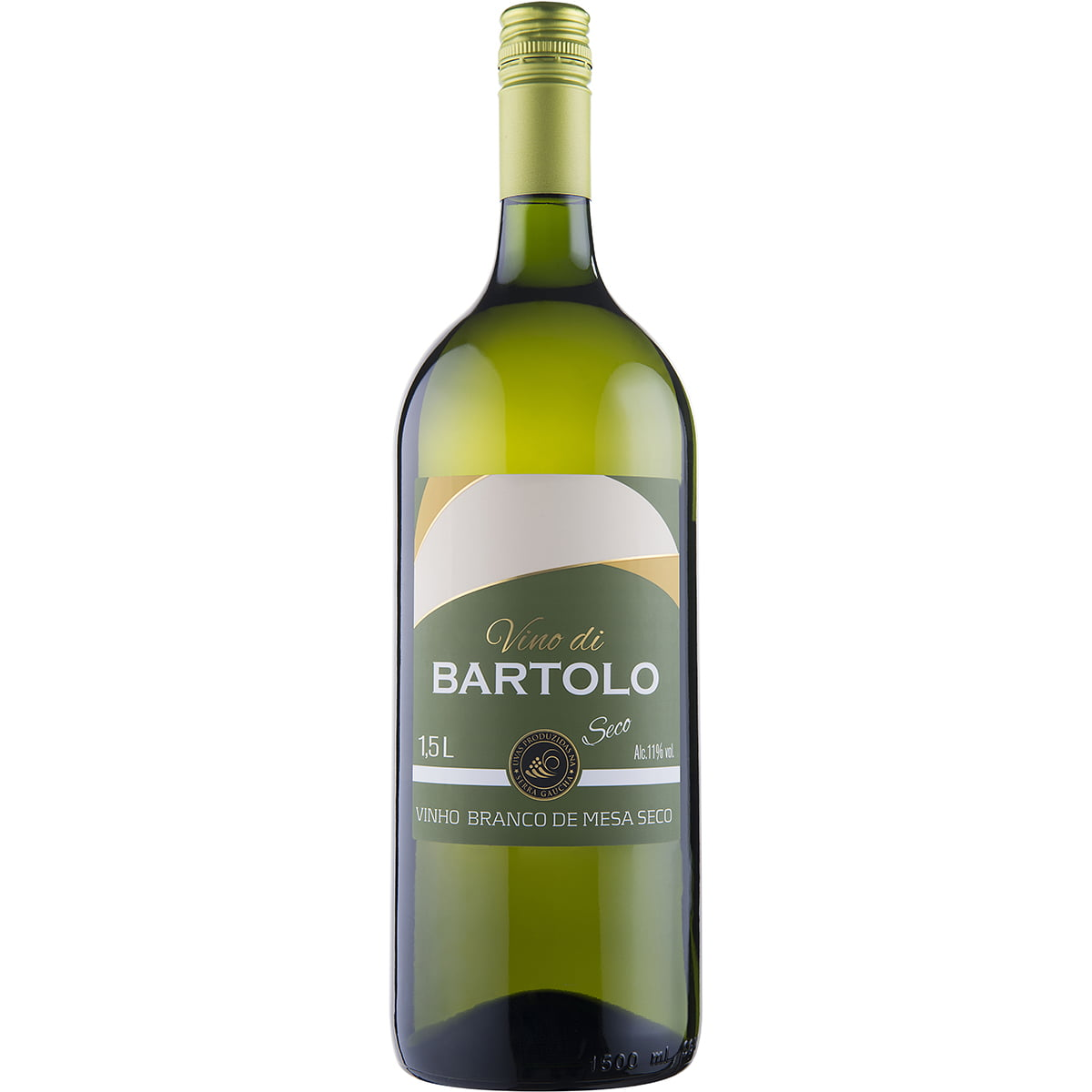 Vinho Garibaldi di Bartolo Branco Seco 1,5Lts