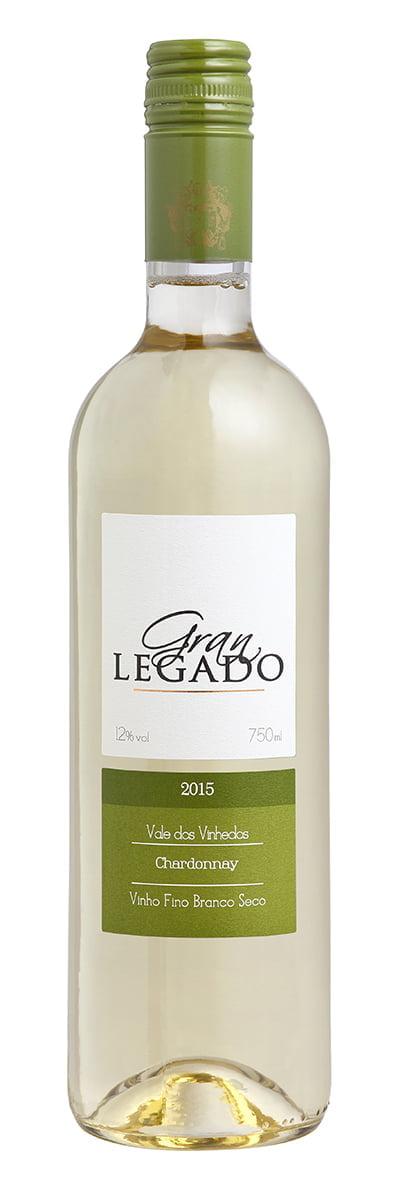 Vinho Gran Legado Chardonnay Branco 750ml