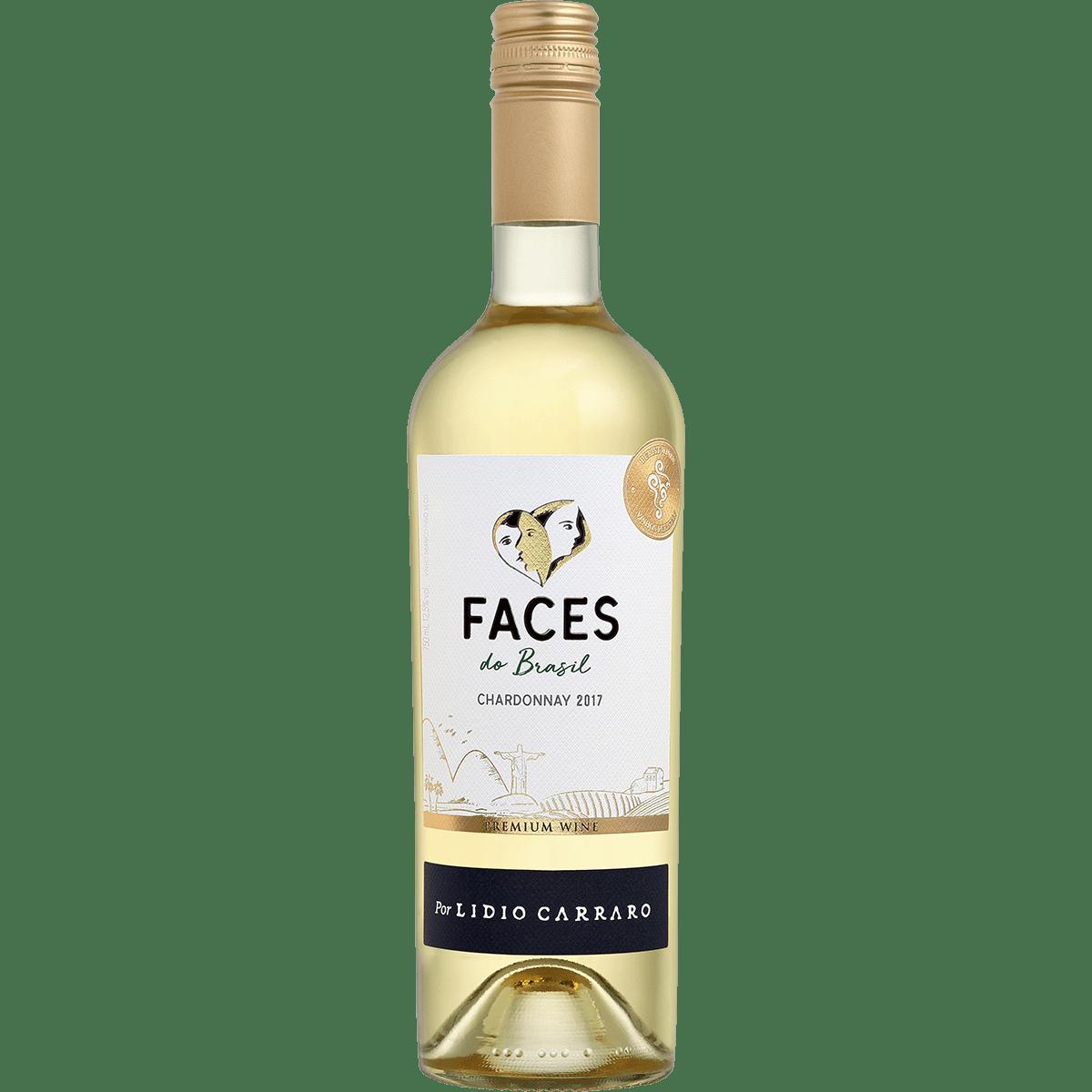 Vinho Lidio Carraro Faces do Brasil Chardonnay Branco Premium 750ml