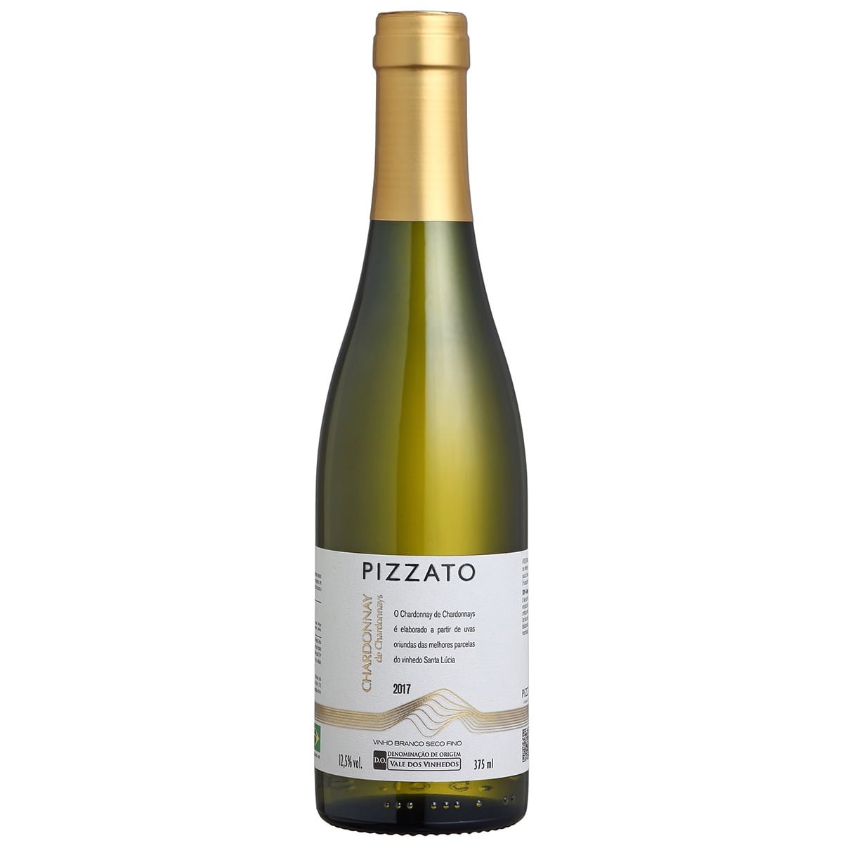 Vinho Pizzato Chardonnay Branco Seco 375ml