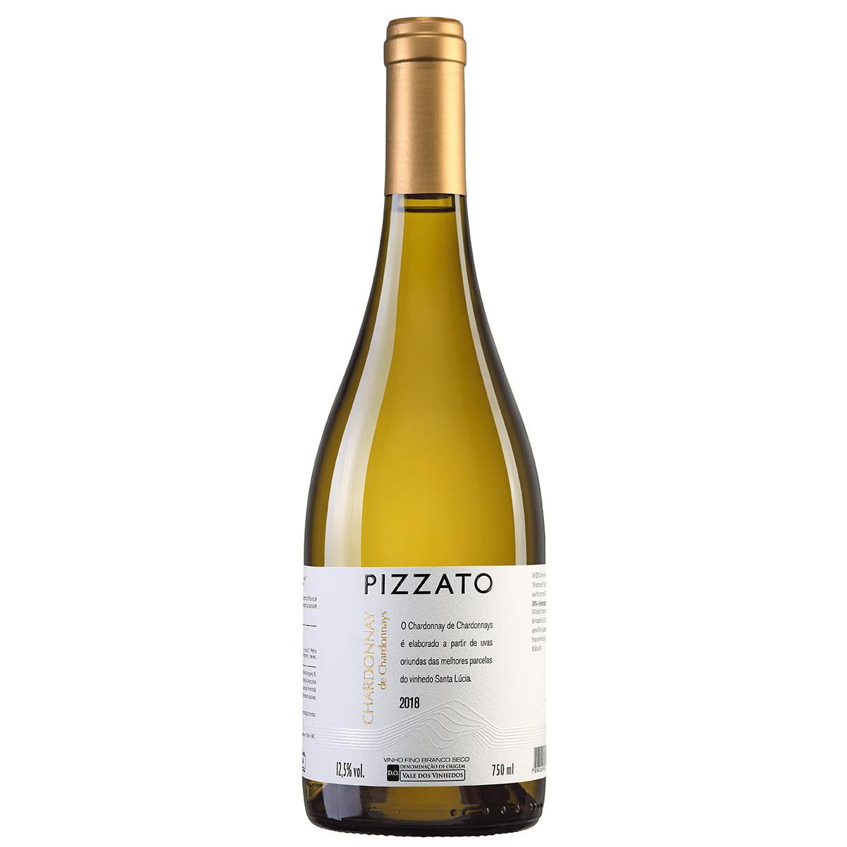 Vinho Pizzato Chardonnay Branco Seco 750ml