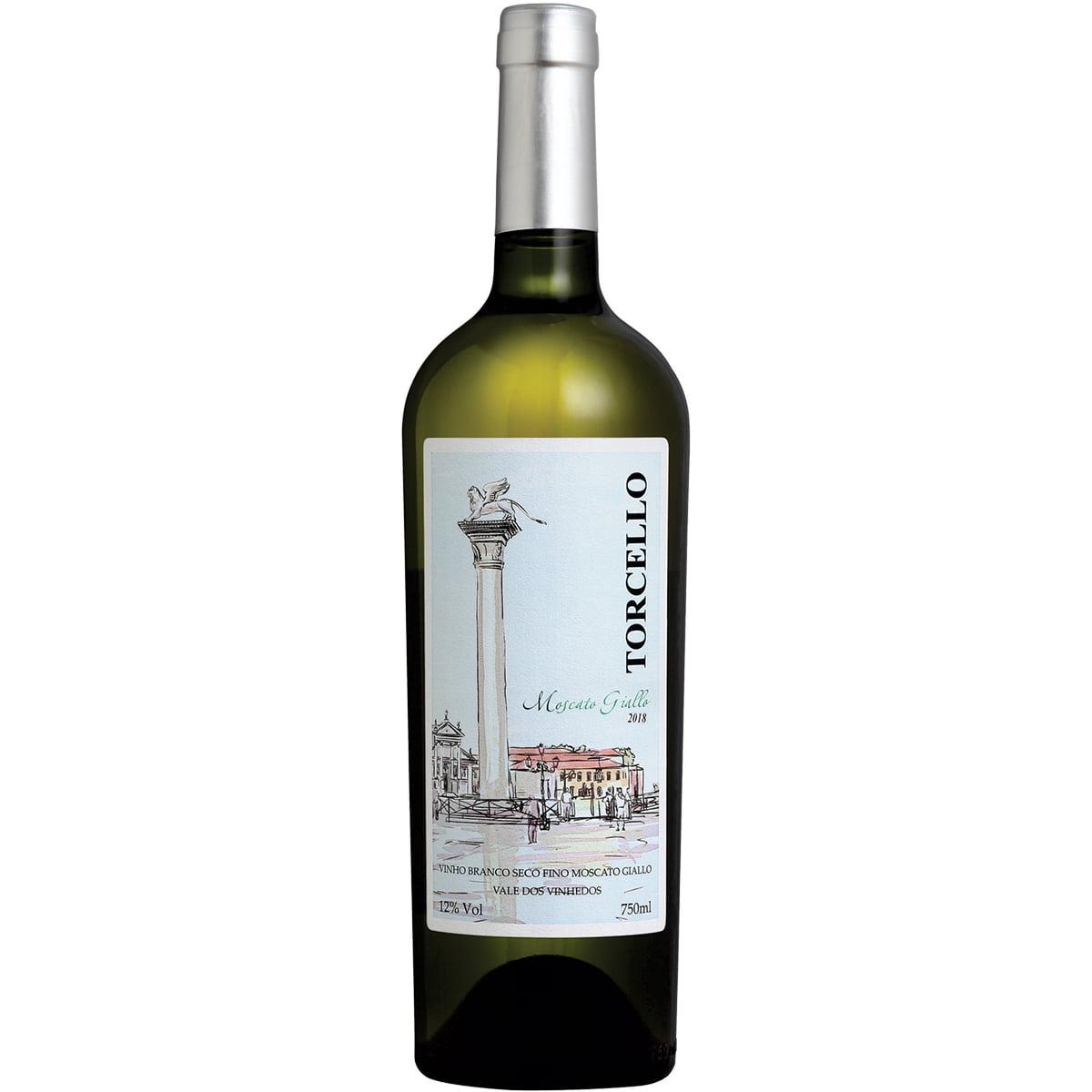 Vinho Torcello Moscato Giallo Branco 750ml