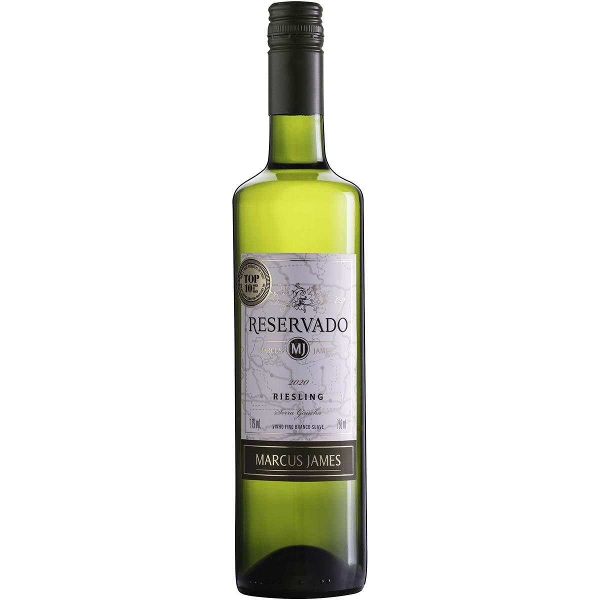 Vinho Aurora Marcus James Riesling Branco Suave 750ml