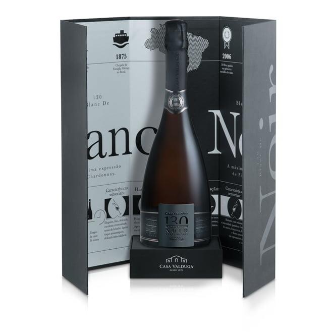 Espumante Casa Valduga 130 Brut Blanc de Noir 750ml C/Embalagem