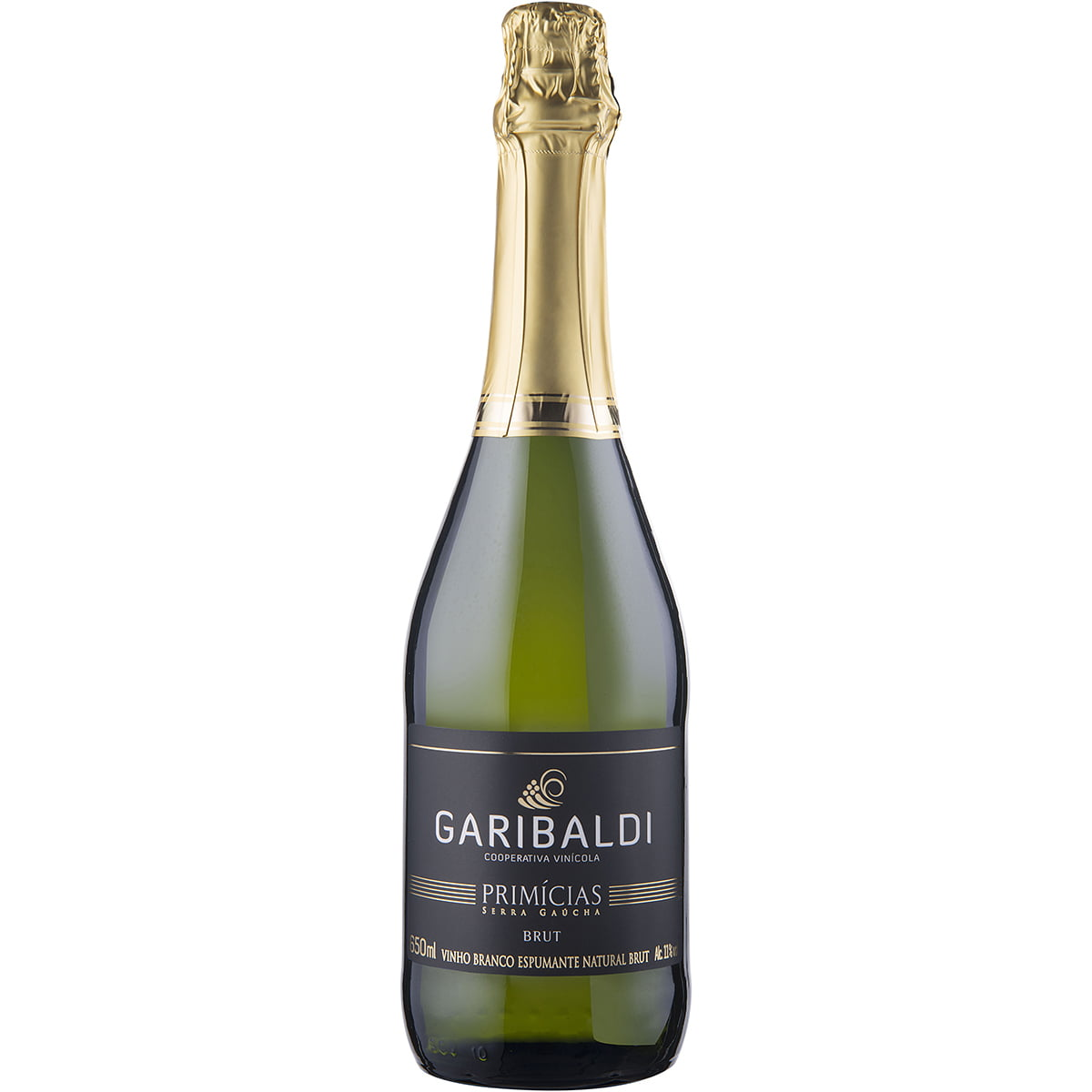Espumante Garibaldi Primícias Brut 660ml