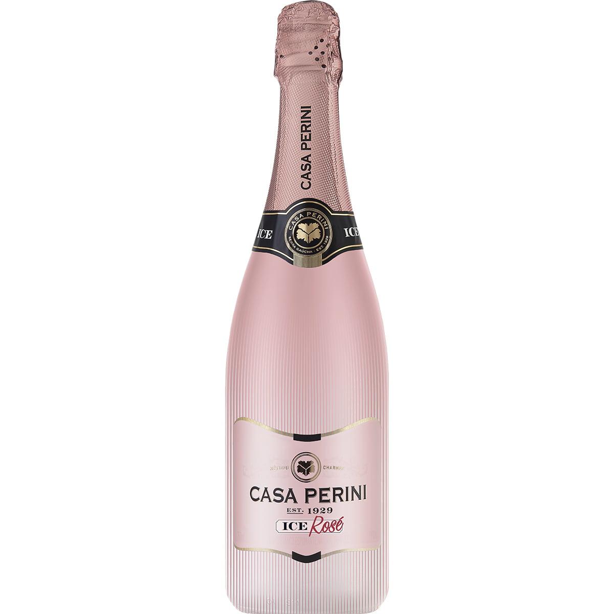 Espumante Casa Perini Ice Demi-Sec Rosé 750ml