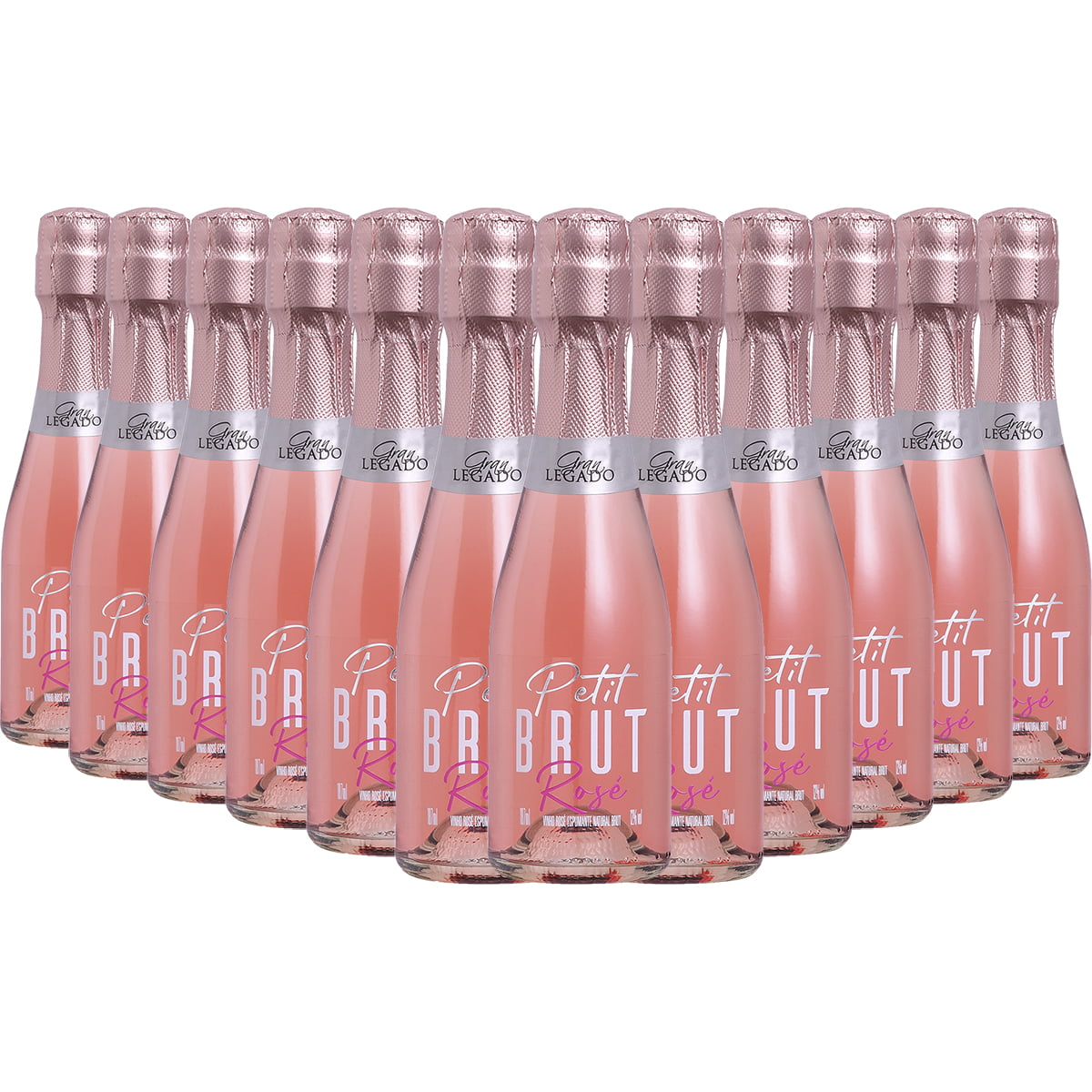 Espumante Gran Legado Petit Brut Rosé Charmat 187ml C/12