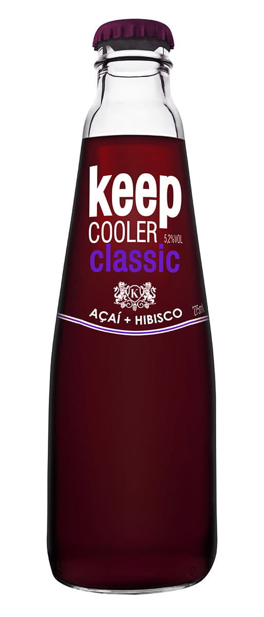 Keep Cooler Classic Açaí+Hibisco 275ml CX c/6
