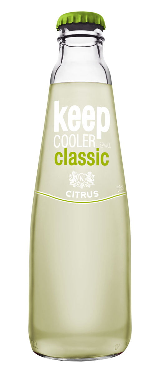 Aurora Keep Cooler Classic Citrus 275ml CX C/6