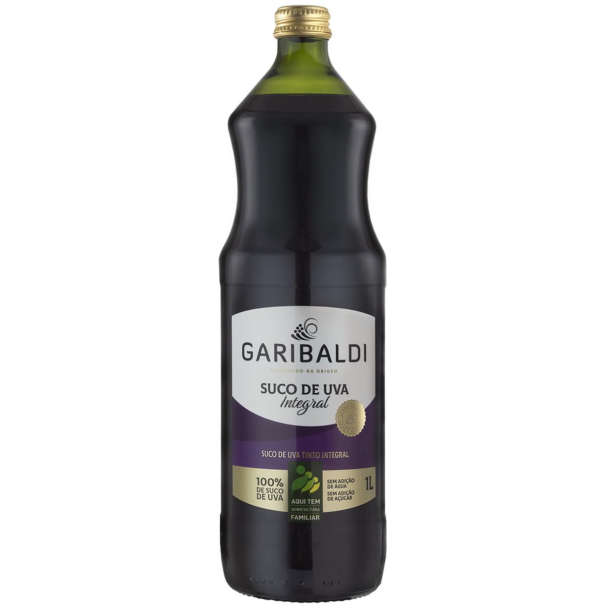 Suco de Uva Garibaldi Tinto Integral 1Lt