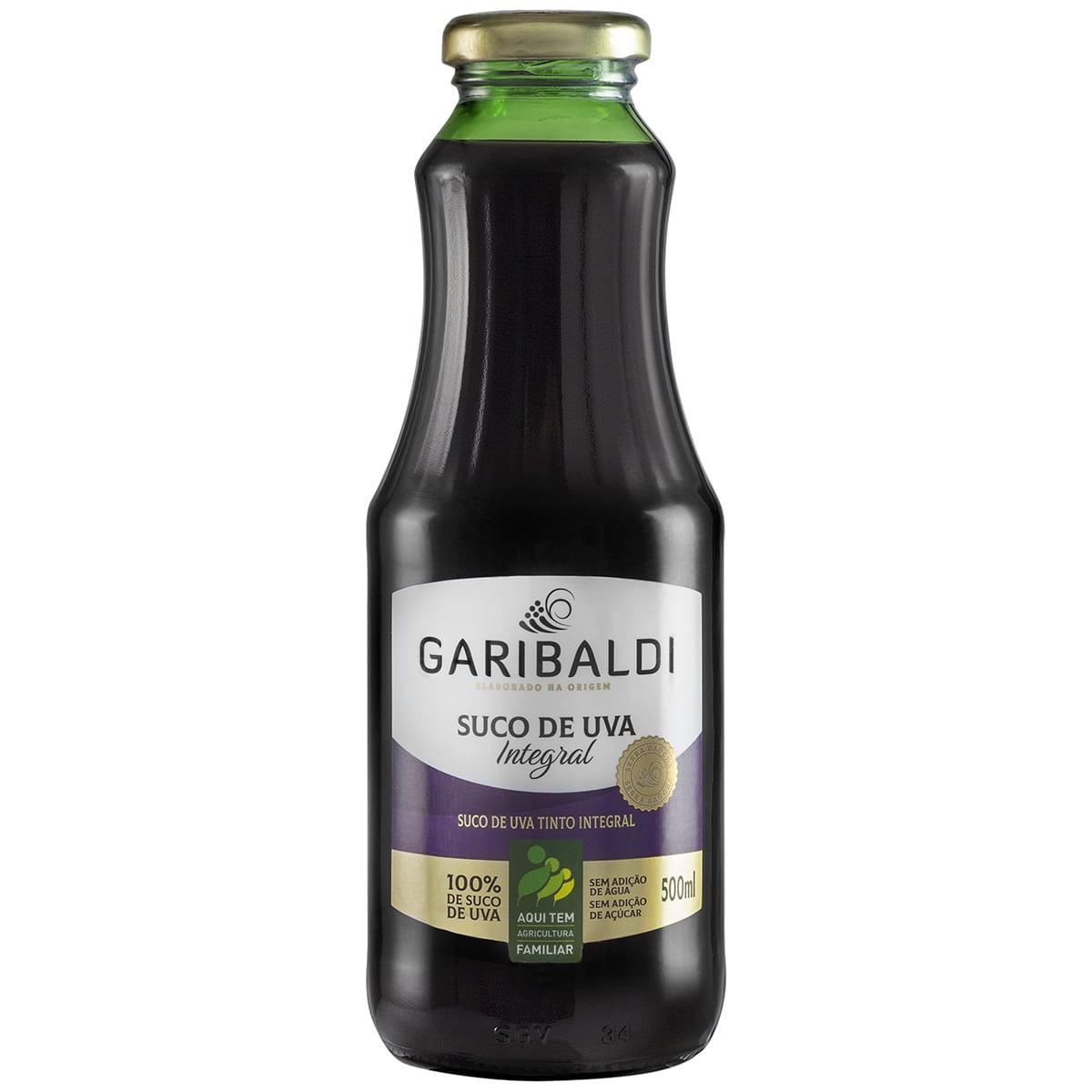 Suco de Uva Garibaldi Tinto Integral 500ml