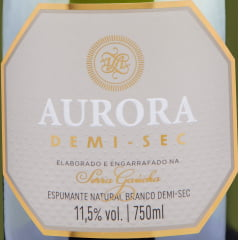 Espumante Aurora Demi-Sec 750ml