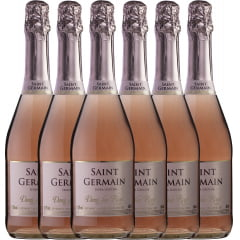 Espumante Aurora Saint Germain Demi-Sec Rosé 660ml  C/6