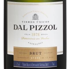 Espumante Dal Pizzol Brut Charmat Branco 750ml Combo C/6