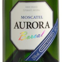 Espumante Aurora Boreal Moscatel Branco 187ml C/24