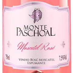 Espumante Monte Paschoal Moscatel Rosé 750ml C/6
