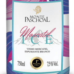 Espumante Monte Paschoal ICE Moscatel Branco 750ml C/6