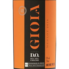 Vinho Aurora Gioia D.O. Merlot Safra 2018 Tinto Seco 750ml C/6