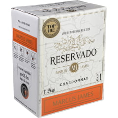 Vinho Marcus James Chardonnay Branco Demi-Sec 3000ml Bag