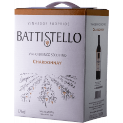 Vinho Battistello Chardonnay Branco Bag In Box 3Lts