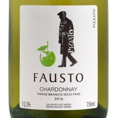 Vinho Fausto Chardonnay Branco 750ml