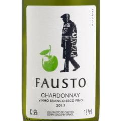 Vinho Fausto Chardonnay Branco 187ml
