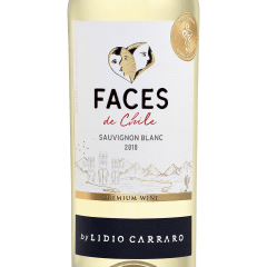 Vinho Lidio Carraro Faces de Chile Sauvignon Blanc Branco 750ml