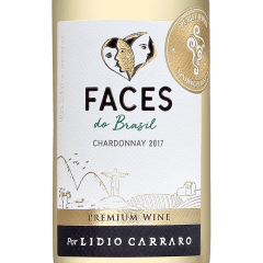 Vinho Lidio Carraro Faces do Brasil Chardonnay Branco 187,5ml
