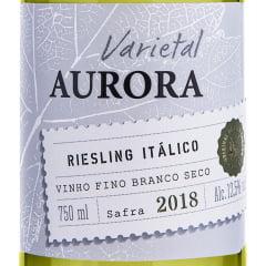 Vinho Aurora Varietal Riesling Itálico Branco 750ml