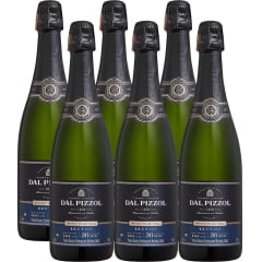 Espumante Dal Pizzol Brut Champenoise Branco 750ml Combo C/6