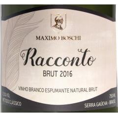 Espumante Maximo Boschi Racconto Brut  750ml