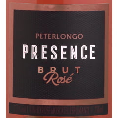 Espumante Peterlongo Presence Brut Rosé 750ml