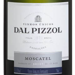 Espumante Dal Pizzol Moscatel Branco 750ml - Compre 6 Leve 7