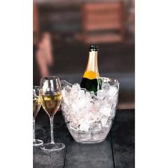 Champanheira Boccati Modular Transparente para 1 garrafa