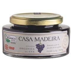 Geleia Orgânica Casa Madeira Uva 240g