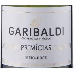 Espumante Garibaldi Primícias Meio Doce 660ml