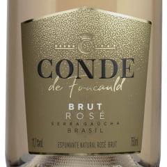 Espumante Aurora Conde de Foucauld Brut Rosé 750ml