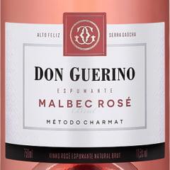 Espumante Don Guerino Malbec Brut Rosé 750ml