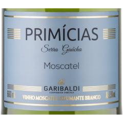Espumante Garibaldi Primícias Moscatel 660ml