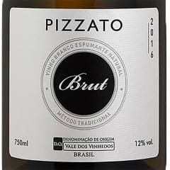 Espumante Pizzato Brut Tradicional Branco 750ml C/6