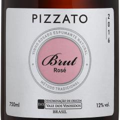 Espumante Pizzato Brut Tradicional Rosé 750ml