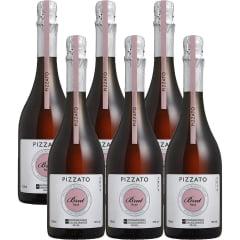 Espumante Pizzato Brut Tradicional Rosé 750ml C/6