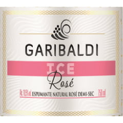 Espumante Garibaldi Ice Rosé Demi-Sec 750ml