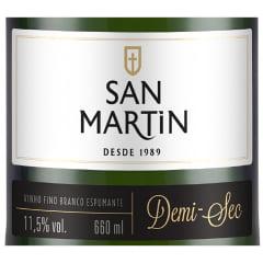 Espumante Panizzon San Martin Demi Sec Branco 660ml