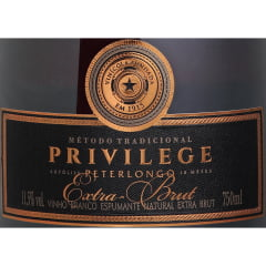 Espumante Peterlongo Privillege Extra Brut 750ml