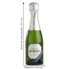 Espumante Aurora Boreal Moscatel Branco 187ml C/12