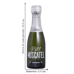 Espumante Gran Legado Petit Moscatel 187ml  C/12